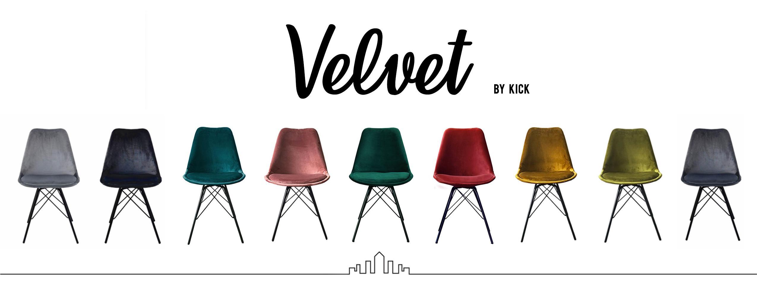 Kick Kuipstoel Velvet